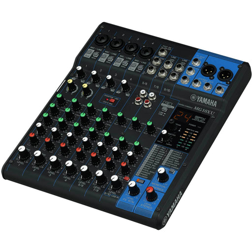Yamaha MG10XU - 10 Channel Compact Mixer with Effects & USB