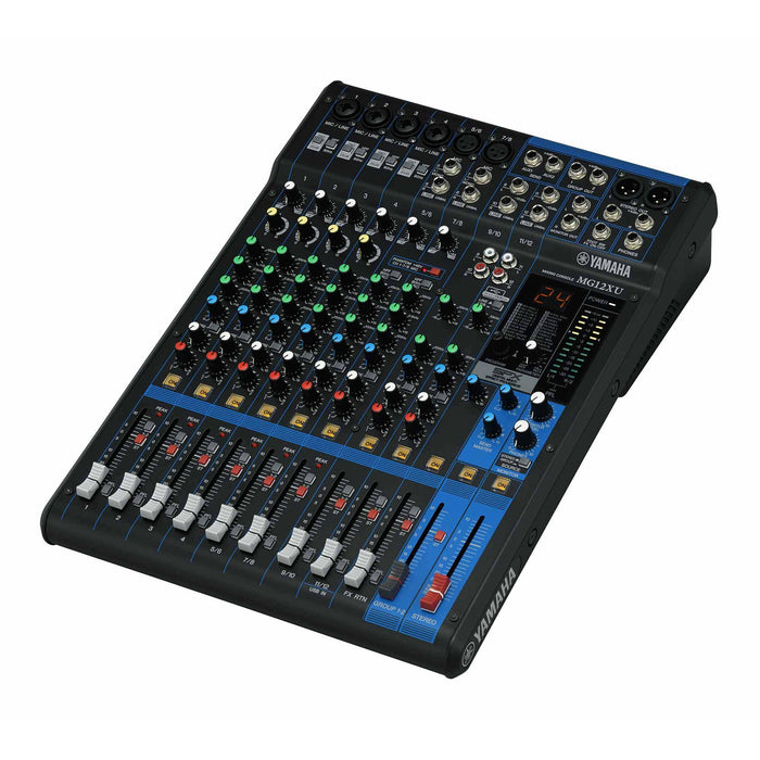 Yamaha MG12XU - 12 Channel Mixer with Effects & USB