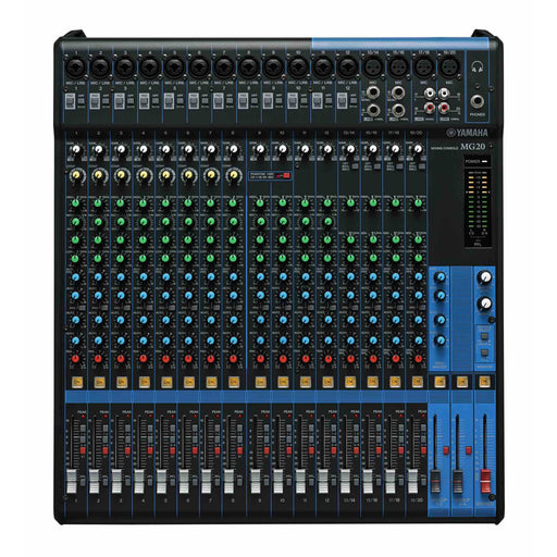 Yamaha MG20 - 20:6 mixer, 16 D-REP Mic Pres, Compressors, Internal Power Supply, Rack Top
