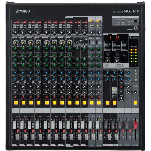 Yamaha MGP16X 16 - Channel Mixing Console. 10x Mic / 16x Line / 4x Group / Stereo Bus