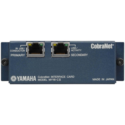 Yamaha MY16-CII - 16 Channel I/O CobraNet - Special Offer
