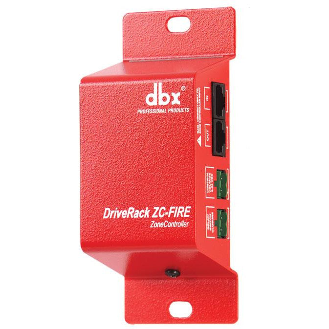 DBX ZC-Fire - Dedicated Fire Safety Interface for ZonePro
