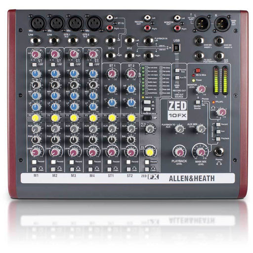 Allen & Heath ZED10FX Top