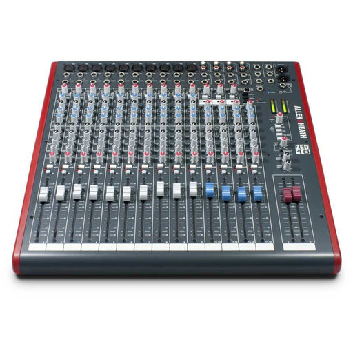 Allen & Heath ZED18 Mixer - 10 Mono 4 Stereo with USB Top Right