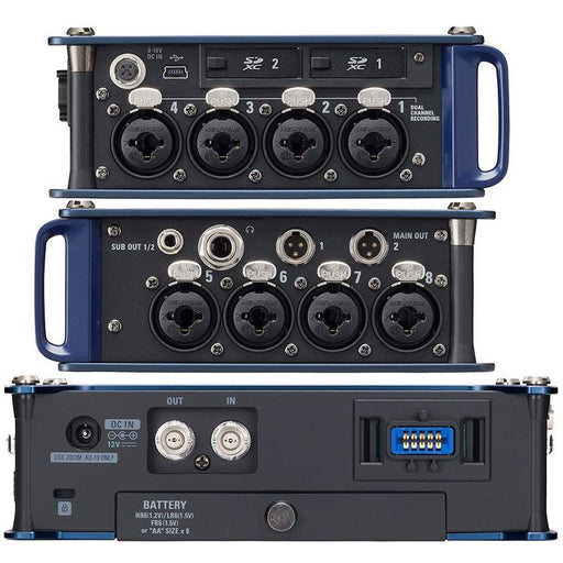 Zoom F8N - 8 Channel Multi-Track Field Recorder