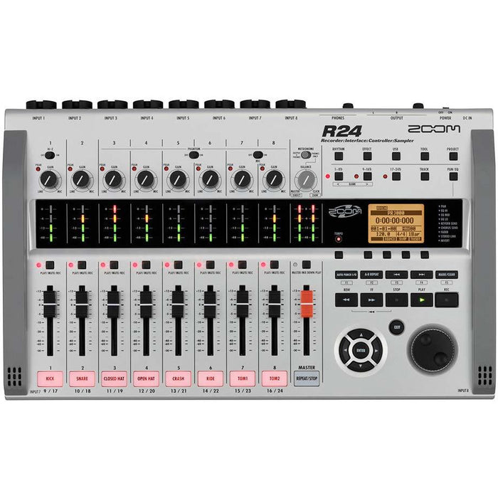 Zoom R24 - Multi-Track Recorder, Interface, Controller & Sampler Top