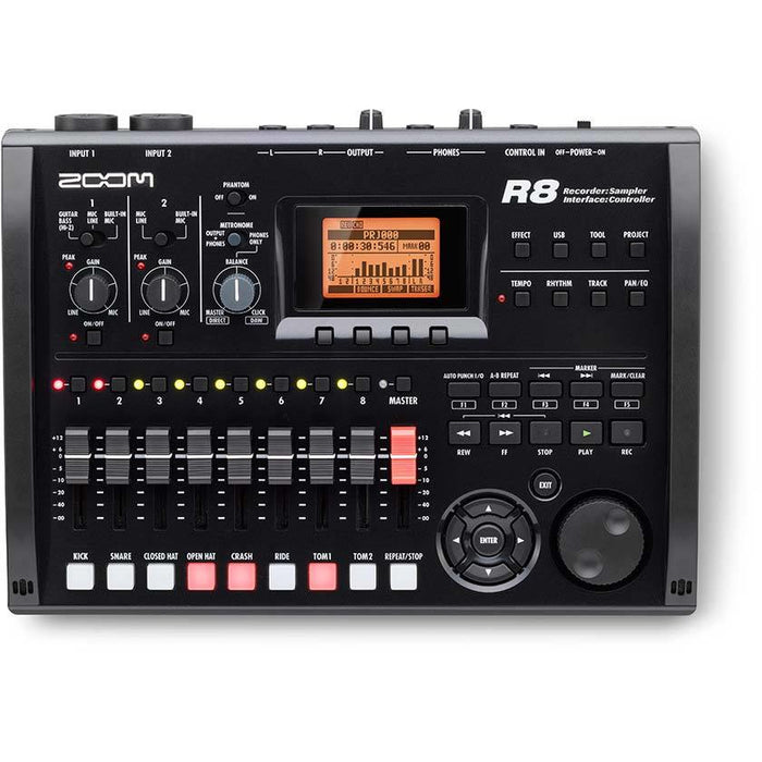 Zoom R8 - Recorder Interface Controller Sampler