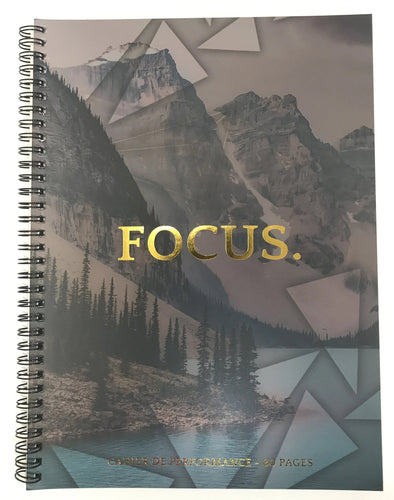 Cahier de notes 80 pages FOCUS.