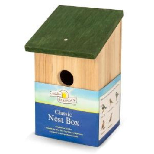 Classic Wooden Nest Box by Harrison's