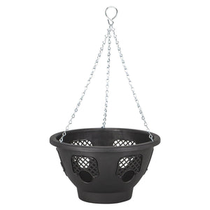 "Easy Fill Blooming 14"" Hanging Basket- By Oakdale"