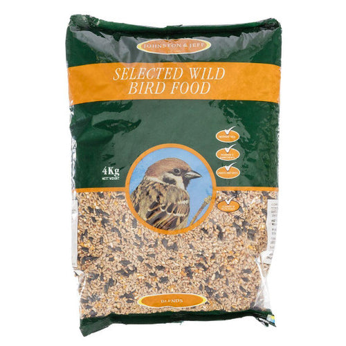 4kg Wild Bird Food-  By Johnston And Jeff - Bells Gardening