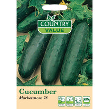 Load image into Gallery viewer, Cucumber Marketmore 76 Seeds- By country Value - Bells Gardening