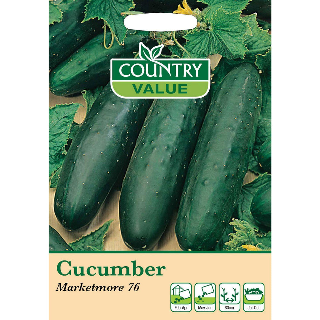 Cucumber Marketmore 76 Seeds- By country Value - Bells Gardening