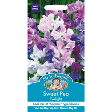 Load image into Gallery viewer, Sweet Pea Twilight Seeds- By Mr Fothergills