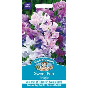 Sweet Pea Twilight Seeds- By Mr Fothergills