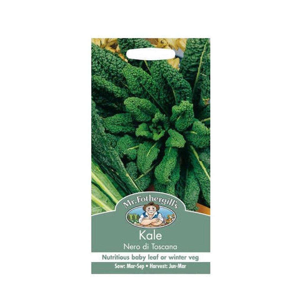 Kale Nero Di Toscana Seeds - By Mr Fothergills - Bells Gardening