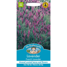 Load image into Gallery viewer, Lavendar French Lavander Seeds- By Mr Fothergills