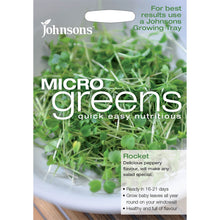 Load image into Gallery viewer, Micro Green Rocket- By Johnsons