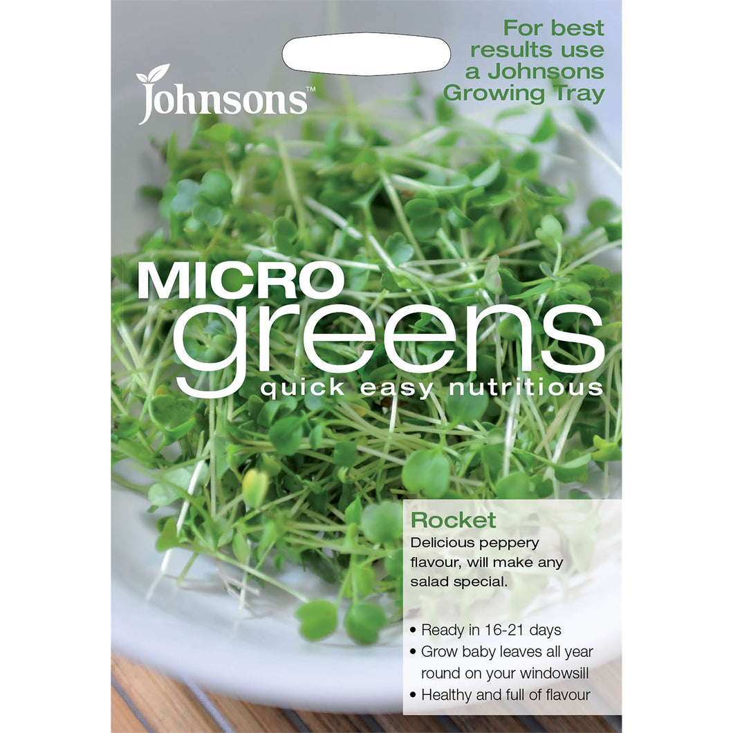 Micro Green Rocket- By Johnsons