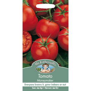 Tomato Moneymaker (Lycopersicon Lycopersicum) Seeds- By Mr Fothergills