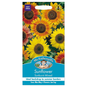 Sunflower Sunburst Mixed Seeds- By Mr Fothergills