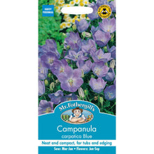 Load image into Gallery viewer, Capanula Carpatica Blue Seeds- By Mr Fothergills - Bells Gardening
