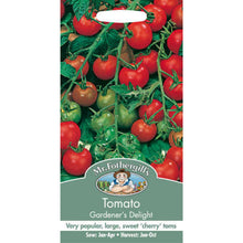 Load image into Gallery viewer, Tomato Gardeners Delight Seeds- By Mr Fothergills