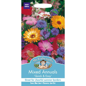 Mixed Annual Seeds- By Mr Fothergills