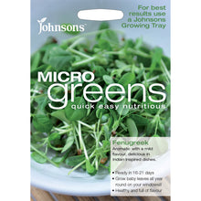 Load image into Gallery viewer, Micro Green Fenugreek- By Johnsons