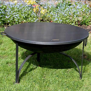Fire Pit Flat Table Top Lid- 90cm - Bells Gardening