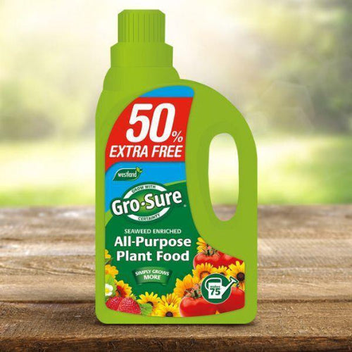 Gro Sure Super Enriched All Purpose Plant Food from Westland 1 litre plus 50% free