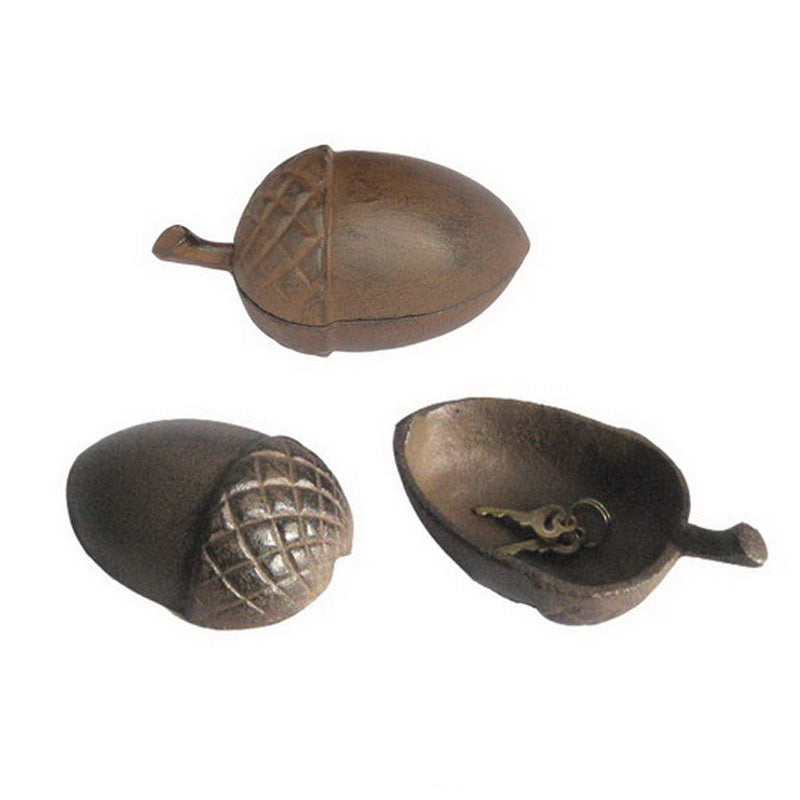 Cast Iron Acorn Key Holder