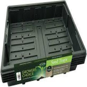Professional Seed Tray Black - Pack of 5 - Bells Gardening