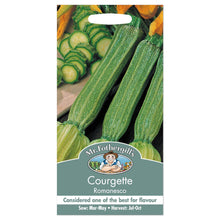Load image into Gallery viewer, Courgette Romanesco- By Mr Fothergills - Bells Gardening