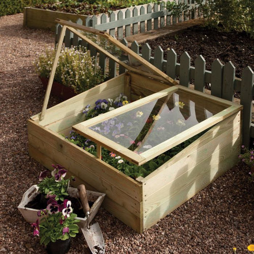 Timber cold Frame By Rowlinson