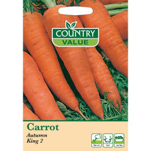 Load image into Gallery viewer, Carrot Autumn Kind 2 Seeds - Bells Gardening