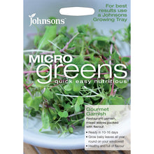 Load image into Gallery viewer, Micro Greens Gourment Garnish- By Johnsons