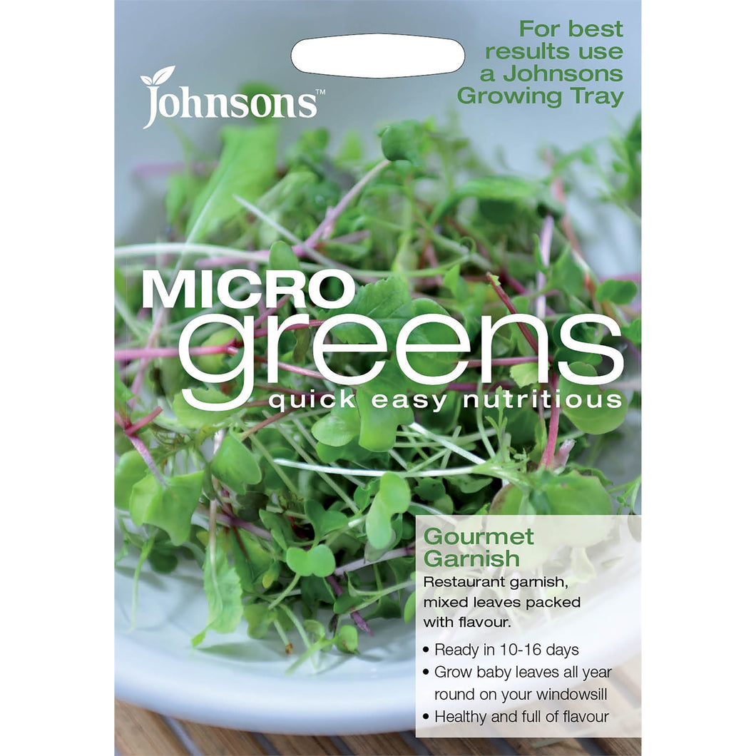 Micro Greens Gourment Garnish- By Johnsons