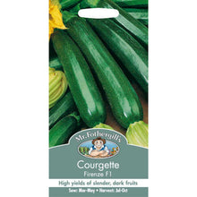 Load image into Gallery viewer, Courgette Firenze F1 Vegetable Seeds- By Mr Fothergills - Bells Gardening