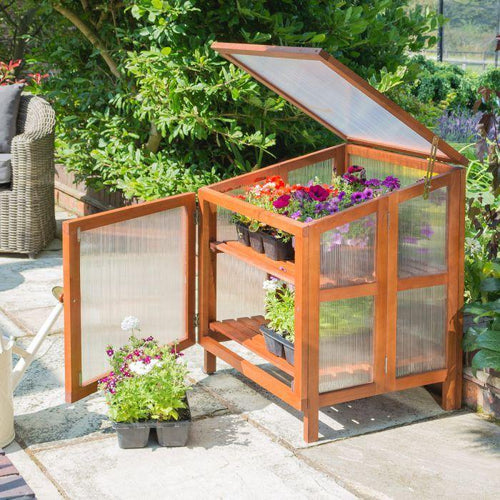 Hardwood Cold Frame By Rowlinson - Bells Gardening