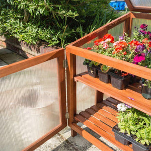 Hardwood Cold Frame By Rowlinson