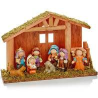 Childrens Nativity Scene