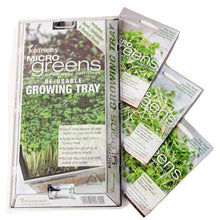 Load image into Gallery viewer, Micro Greens Growing Kit- Basil Coriander & Rocket- By Johnsons