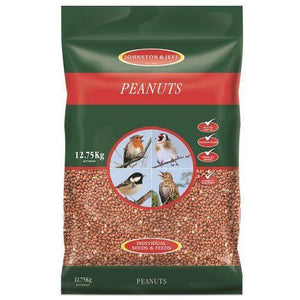 4kg Bird Peanuts By Johnston And Jeff - Bells Gardening