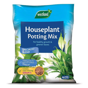 Houseplant Potting Compost 4 litres- By Westland