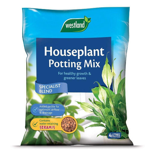 Houseplant Potting Compost 4 litres- By Westland - Bells Gardening
