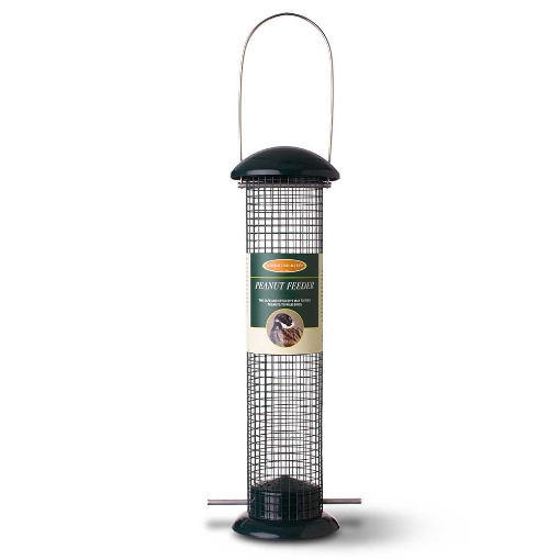Johnston And Jeff Large Metal Peanut Feeder - Bells Gardening