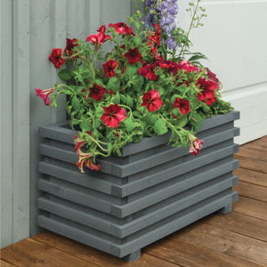 Sorrento Rectangle Planter By Rowlinson