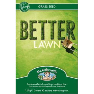 Lawn Seed- Better Lawn By Mr Fothergill's