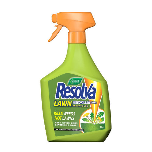 Resolva Lawn Weedkiller Extra Spray 1L - By Westland